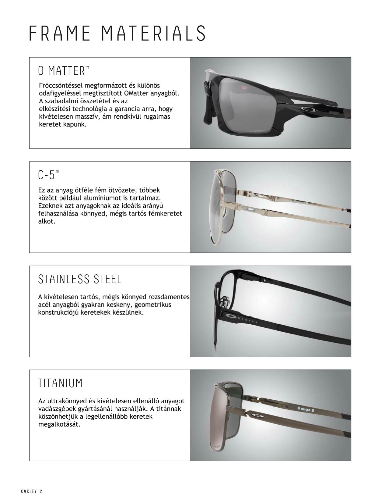 8c091352968f 3000 Napszemüveg 30 Világ Márka Web áruháza - Oakley keret anyagok